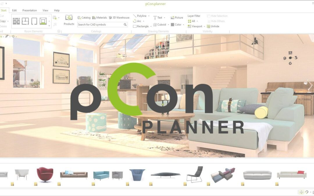 pCon Planner indretning for professionelle